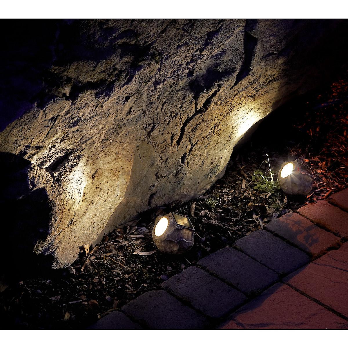 Stener med LED-belysning