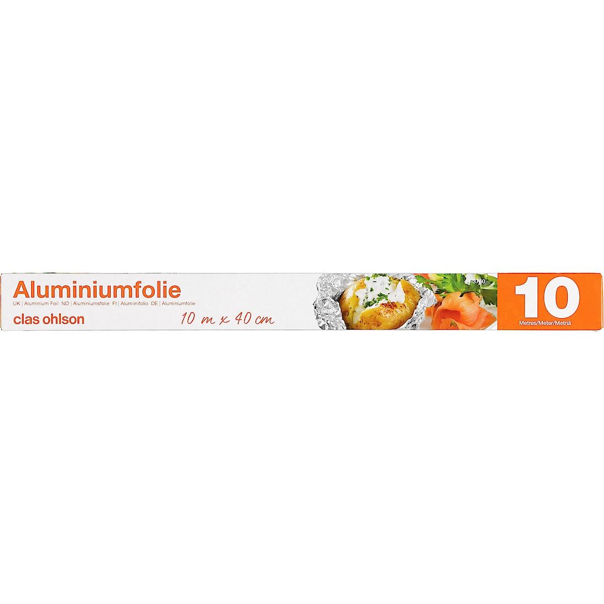 Alumiinifolio 10 metriä