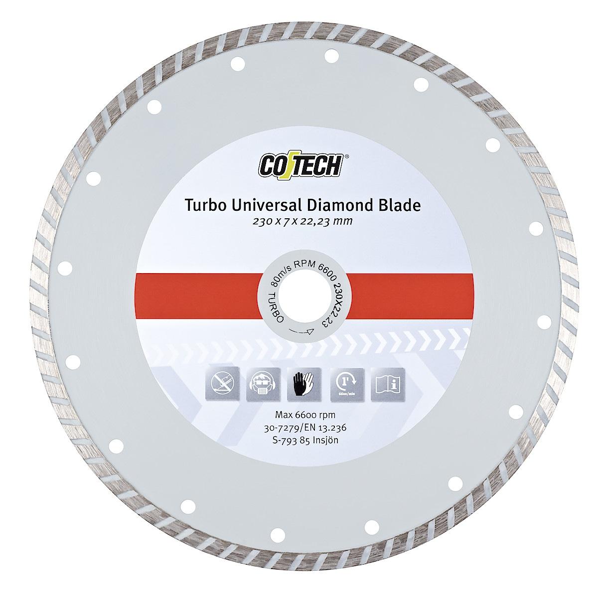 Turbo Universal diamantsagklinge