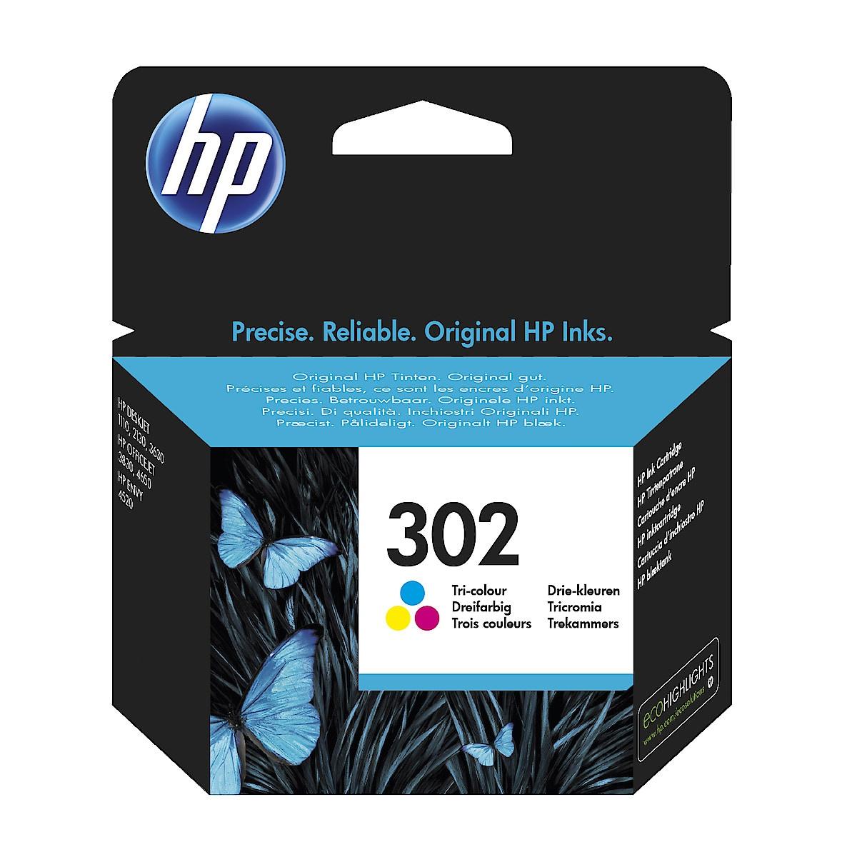 Mustepatruuna HP 302
