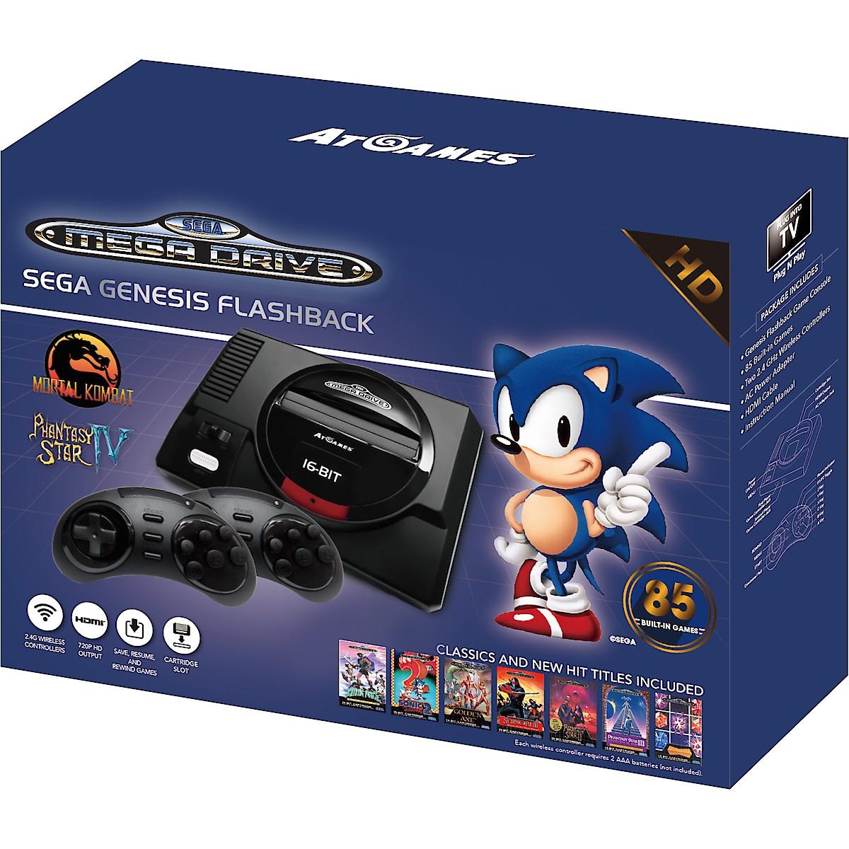 AtGames SEGA Mega Drive Flashback HD spillekonsoll