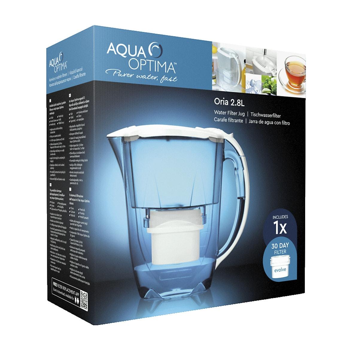 Aqua Optima Oria 2.8 L Water Filter Jug