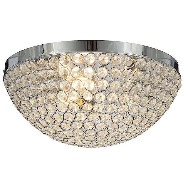 Northlight krystall lampe 30 cm | Clas Ohlson