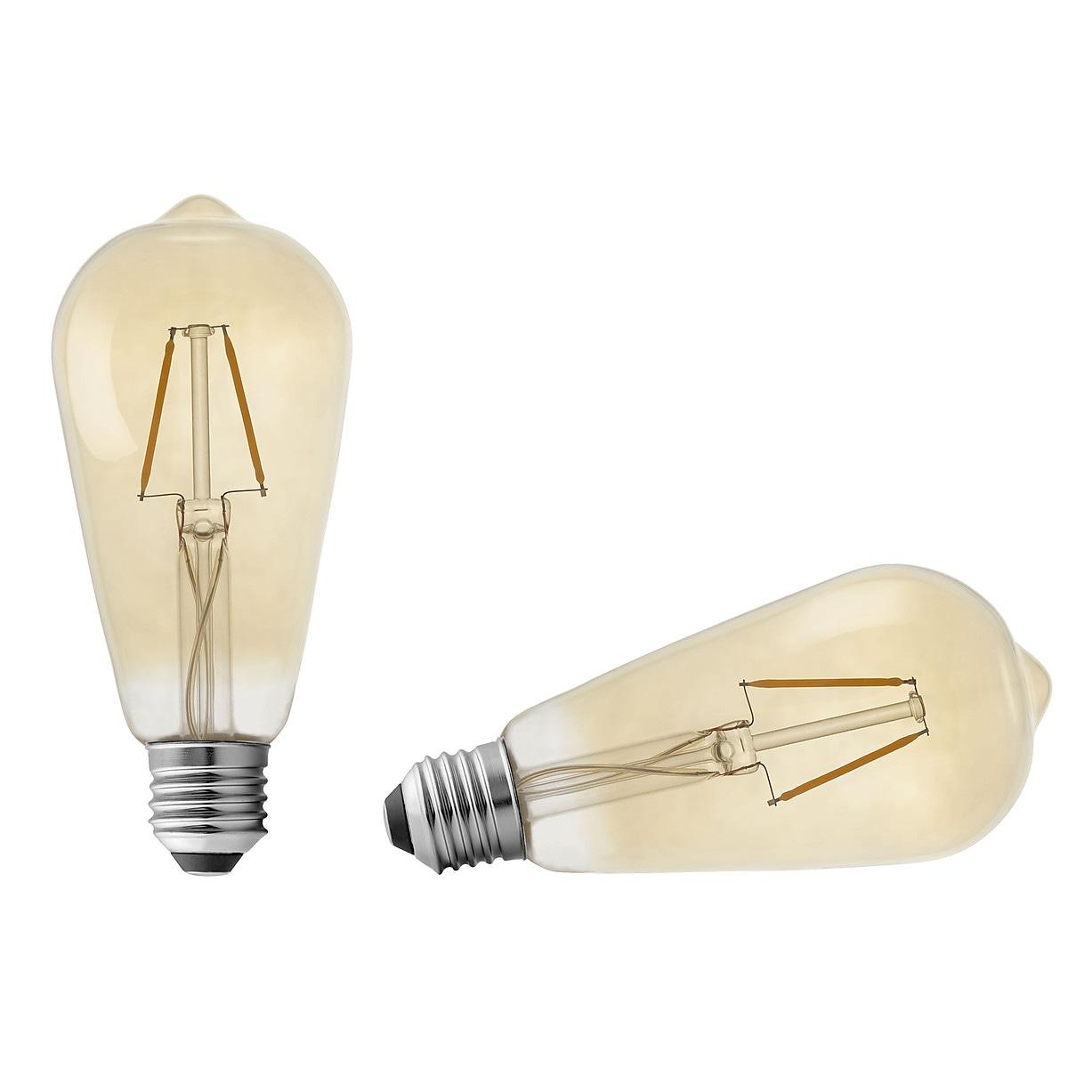Northlight LED dekorasjonspære Retro E27