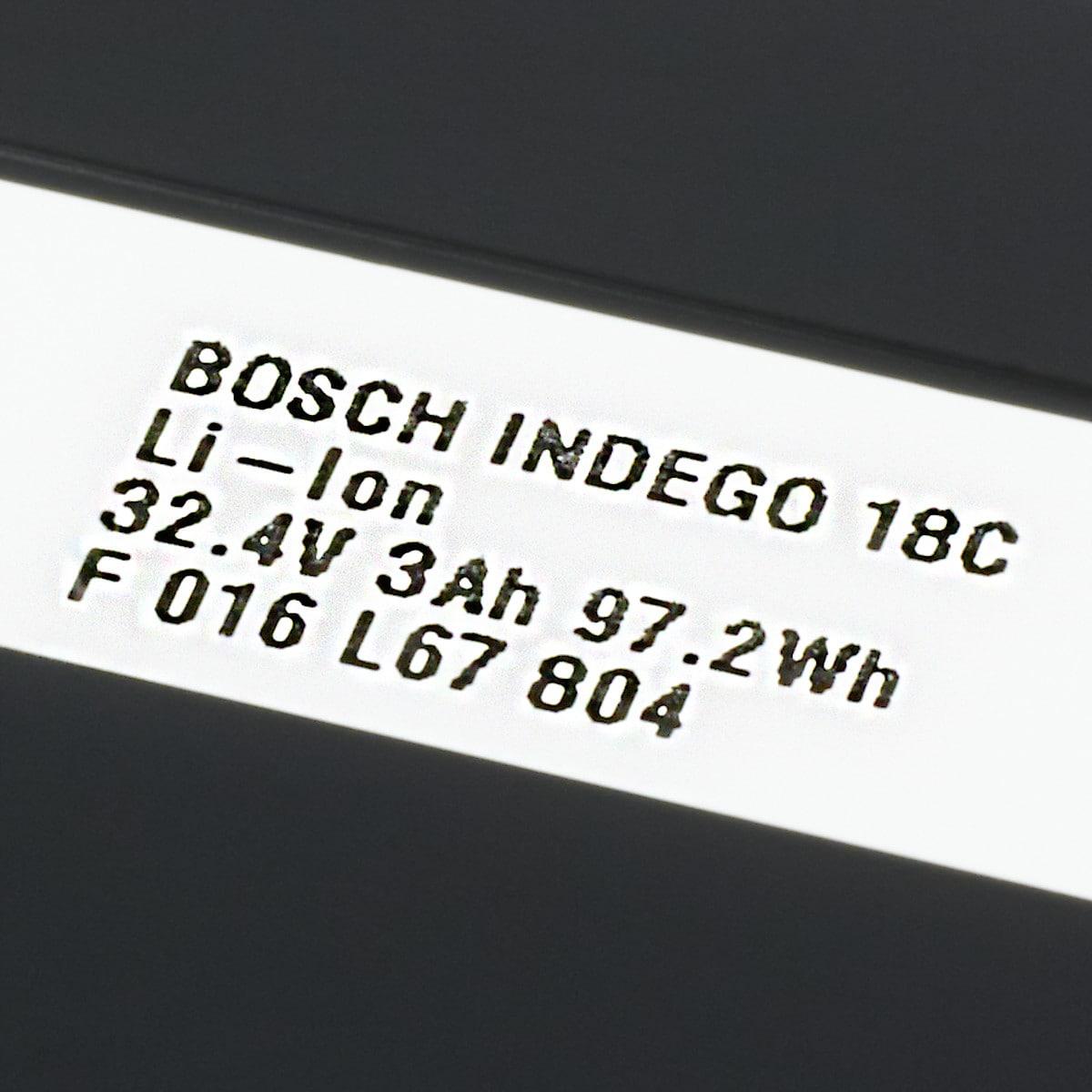 Batteri Bosch Indego