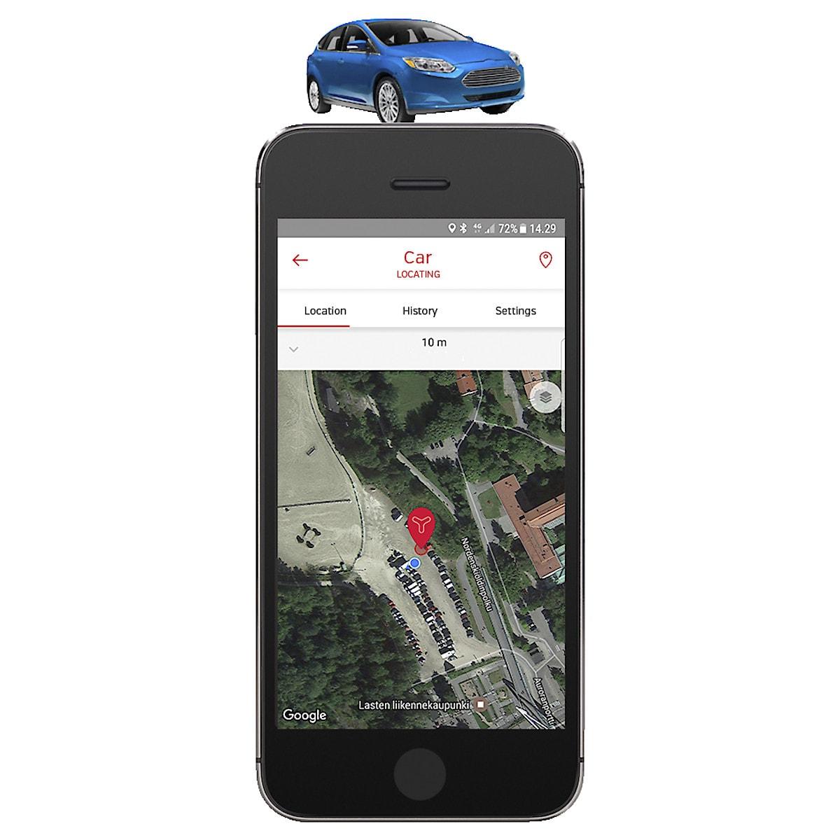 GPS-paikannin Yepzon One