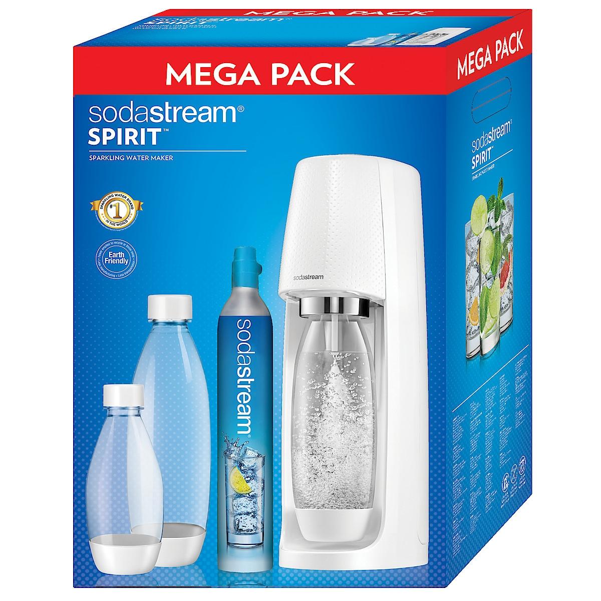 Sodastream Spirit MegaPack, kullsyremaskin