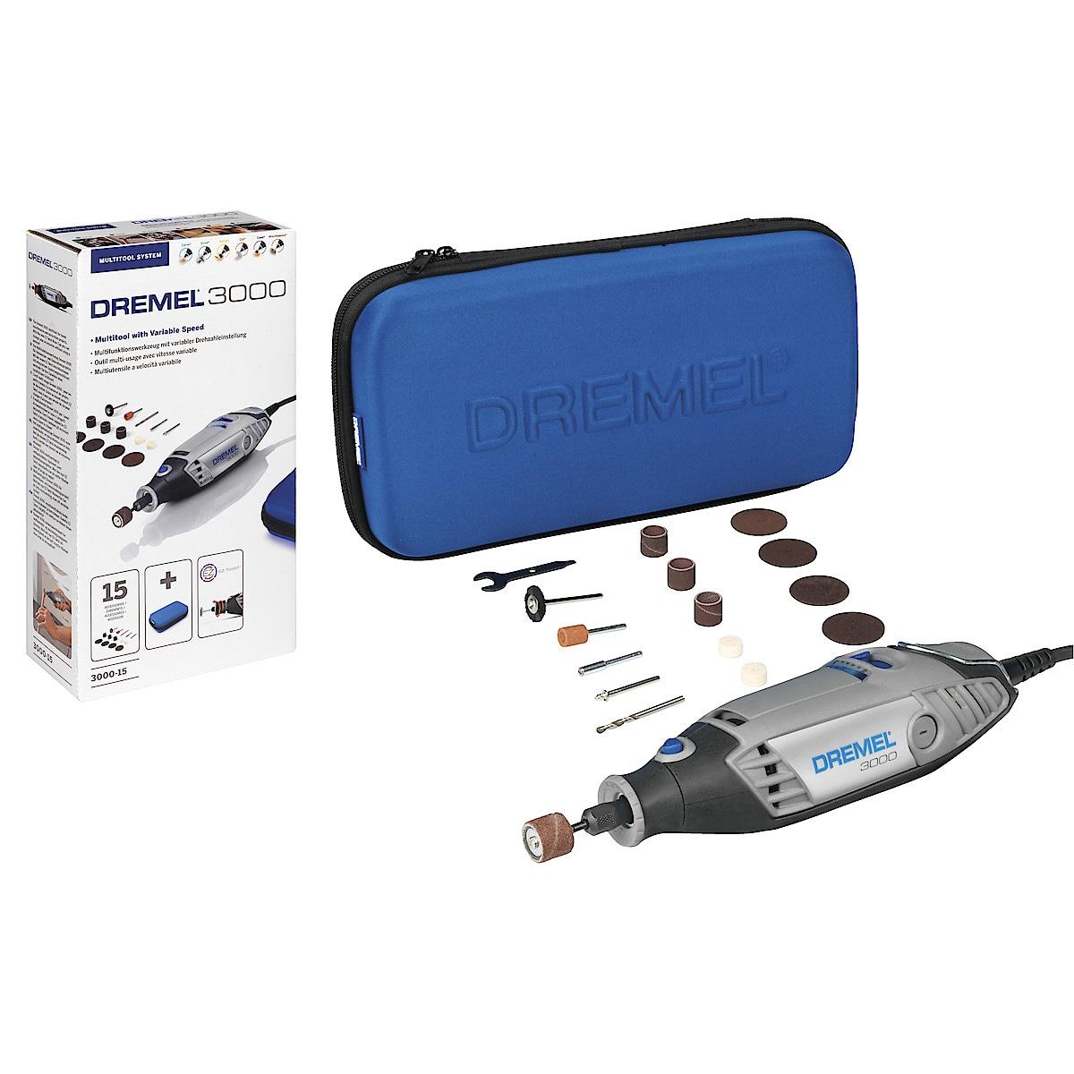 Multiverktyg med tillbehör Dremel 3000-15