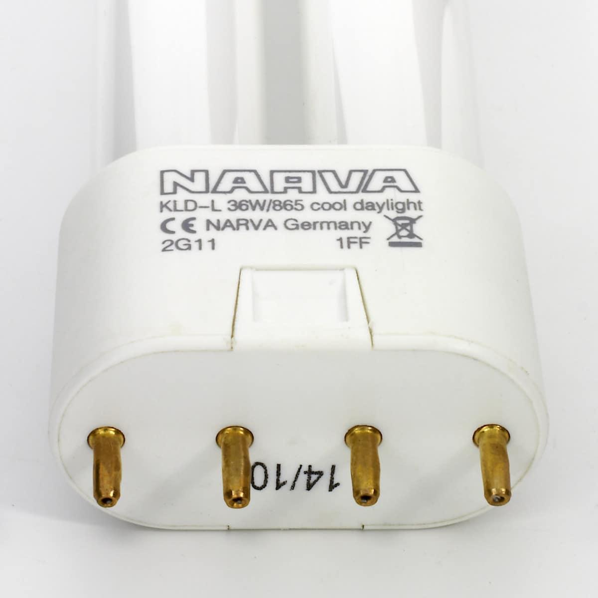 Kompaktlysrör Narva 36 W/865
