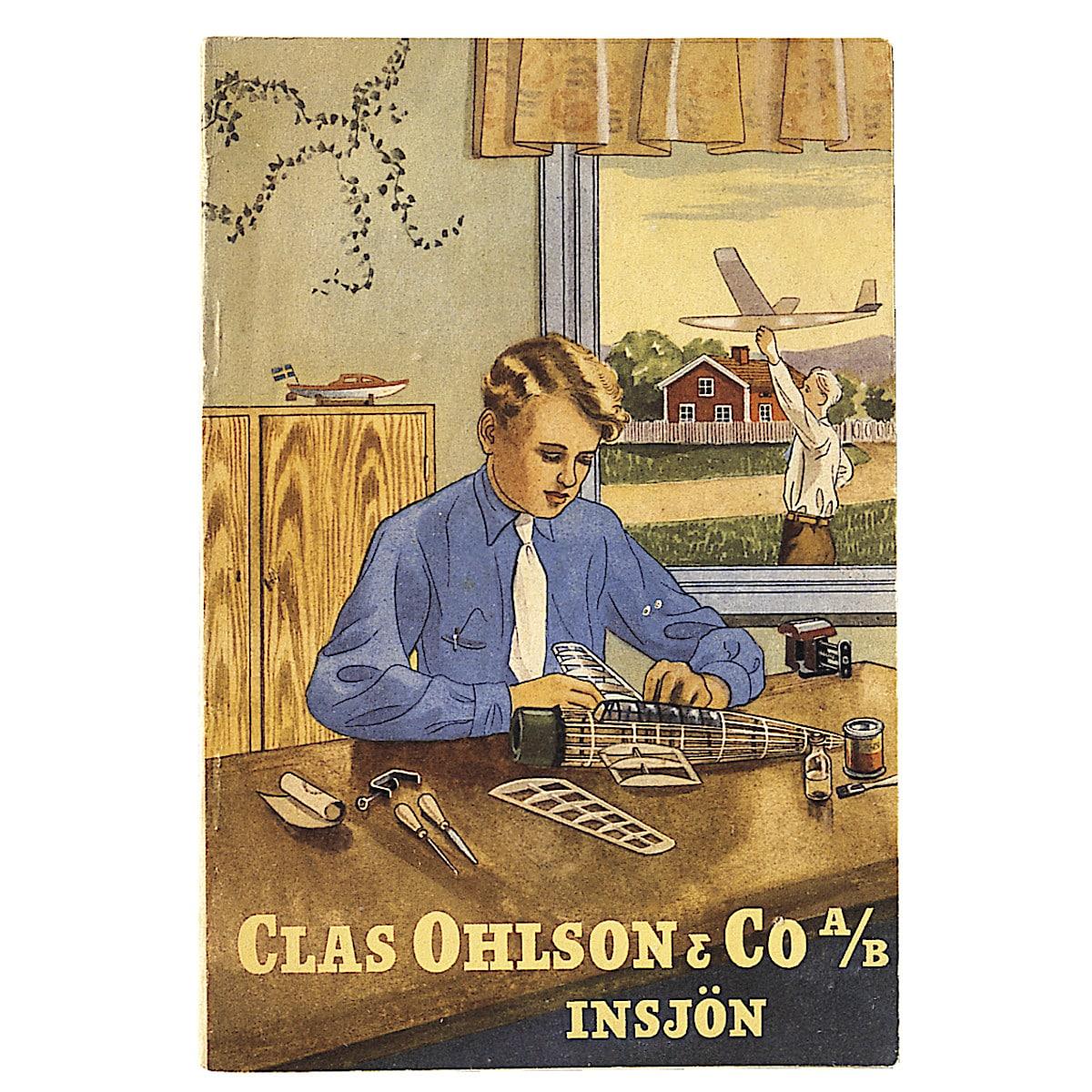Clas Ohlson-katalogen 1945-1946