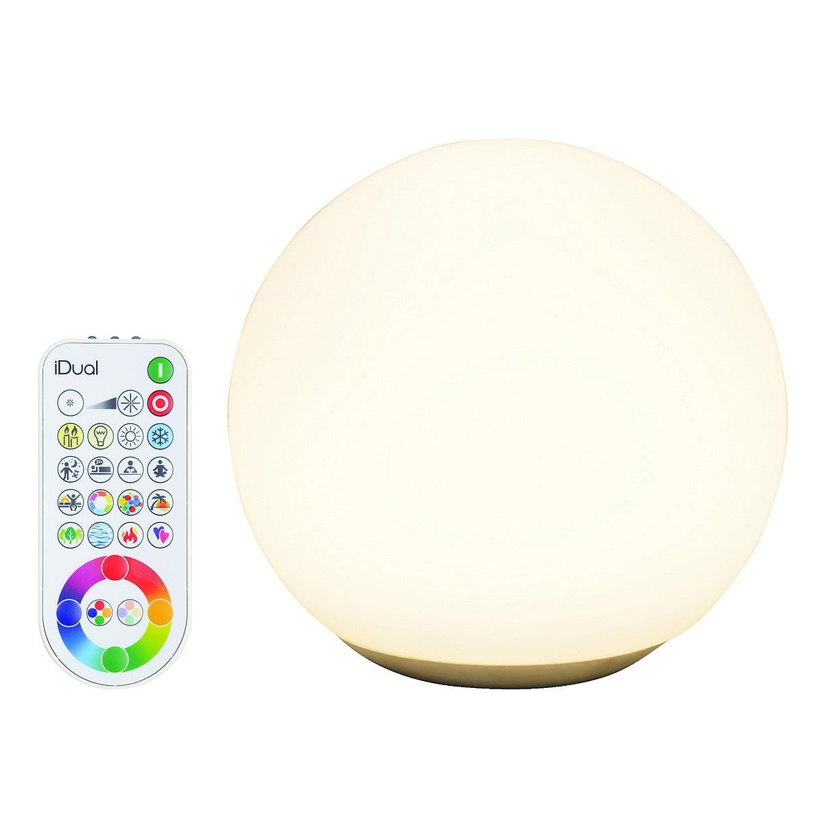 iDUAL RGB+W bordlampe