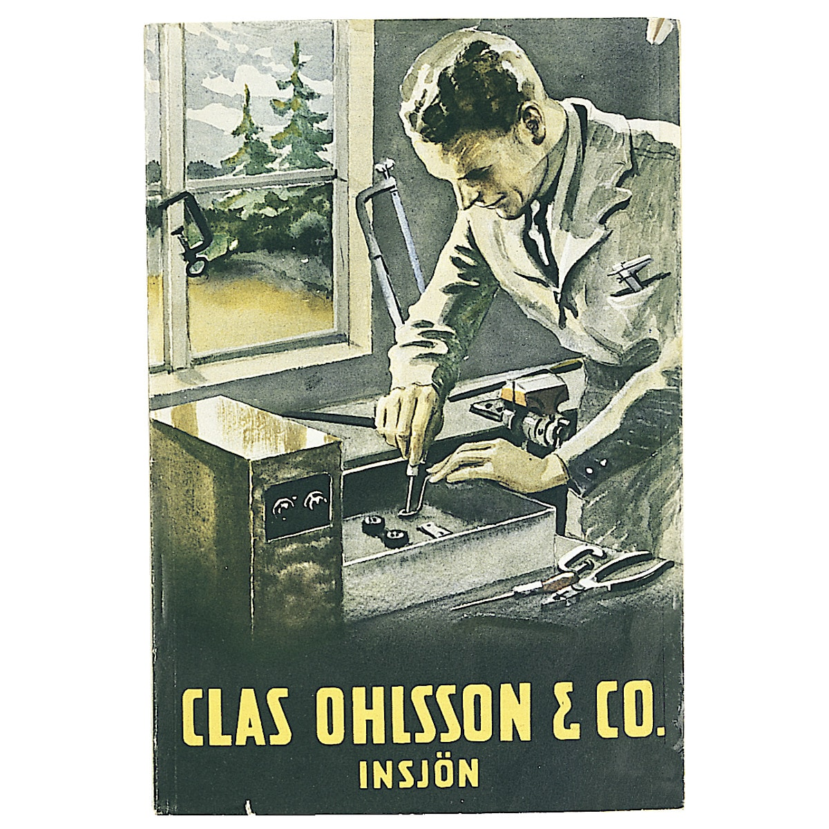Clas Ohlson-katalogen 1933-1934