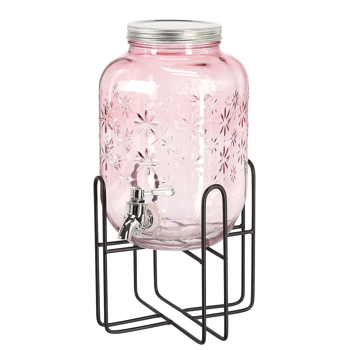 Stand for Glass Drinks Dispenser with Tap