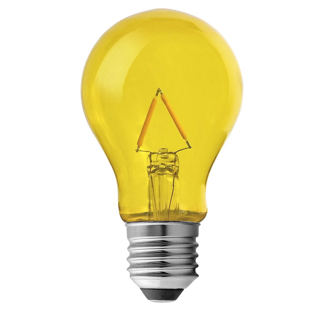 Värillinen LED-lamppu E27 Northlight
