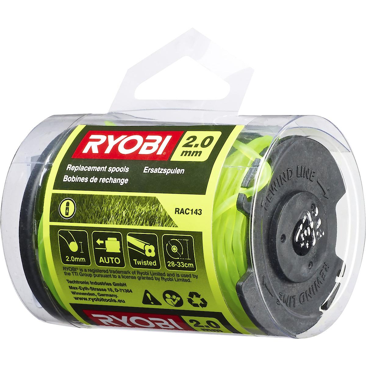 Ryobi RAC143, trimmertråd
