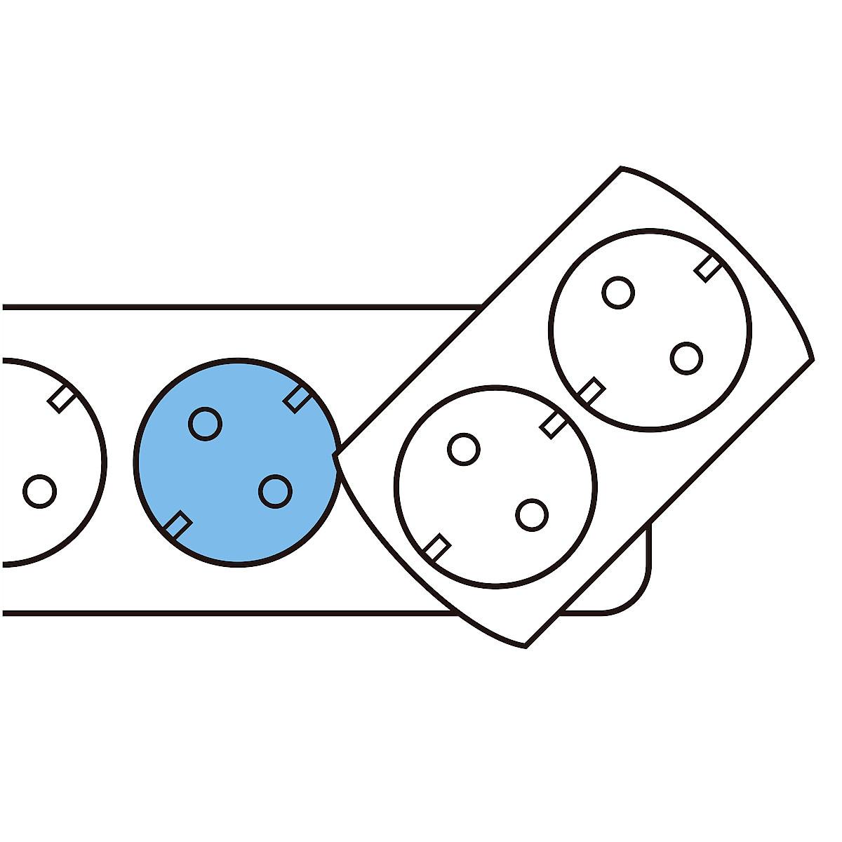 2-osainen haaroitusrasia