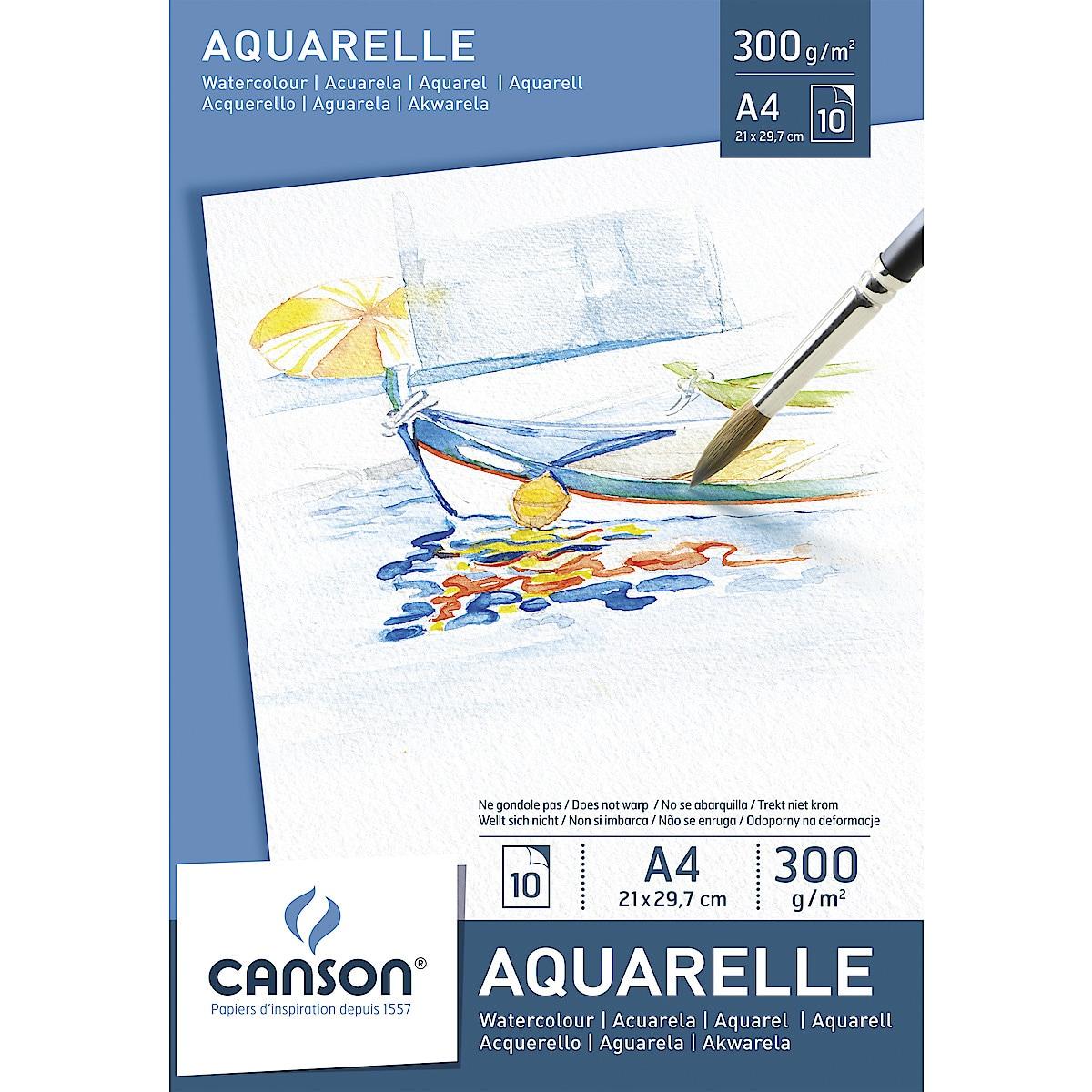 Akvarellblokk Canson