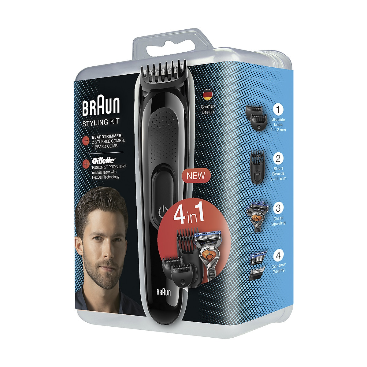 Multitrimmer Braun SK3000 4 i 1 Styling Kit