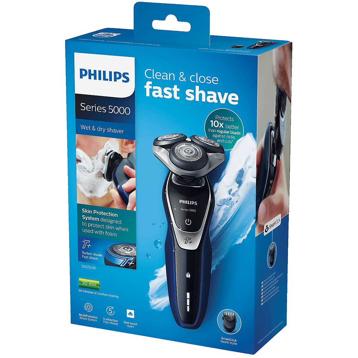 Philips Wet and Dry S5572/40 barbermaskin
