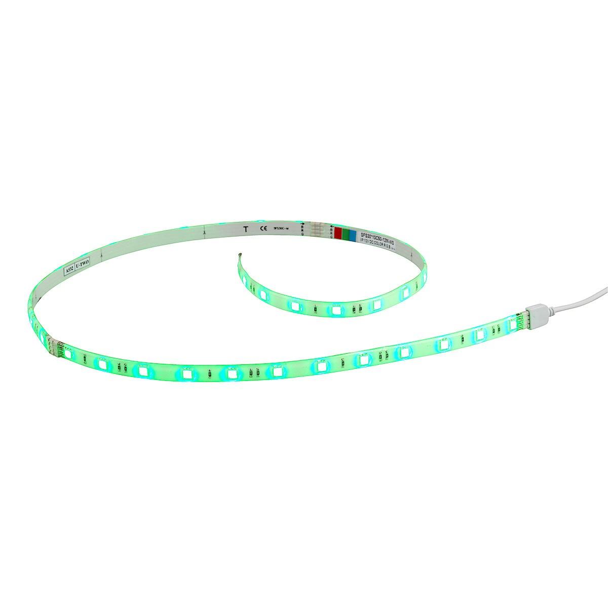 RGB LED-list, startsett