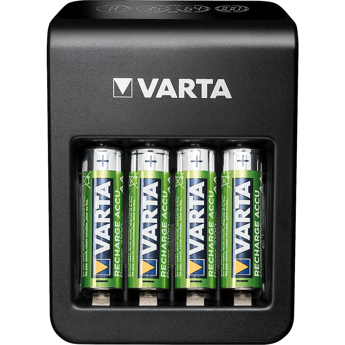 Batteriladdare VARTA LCD Plug Charger+