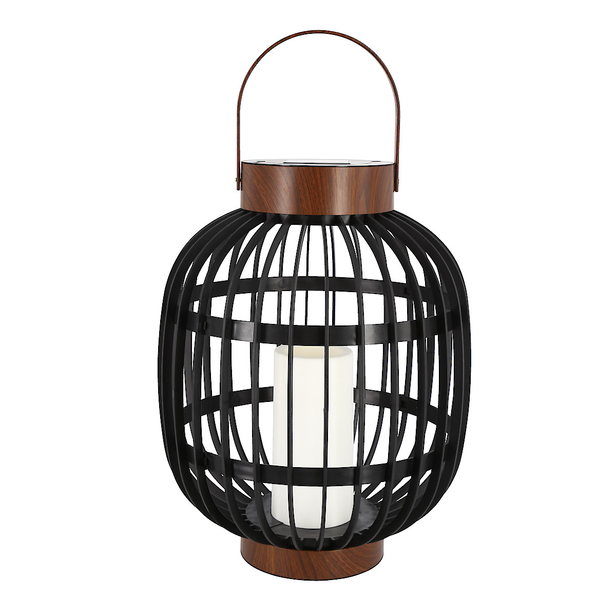 Solar Basket Lantern