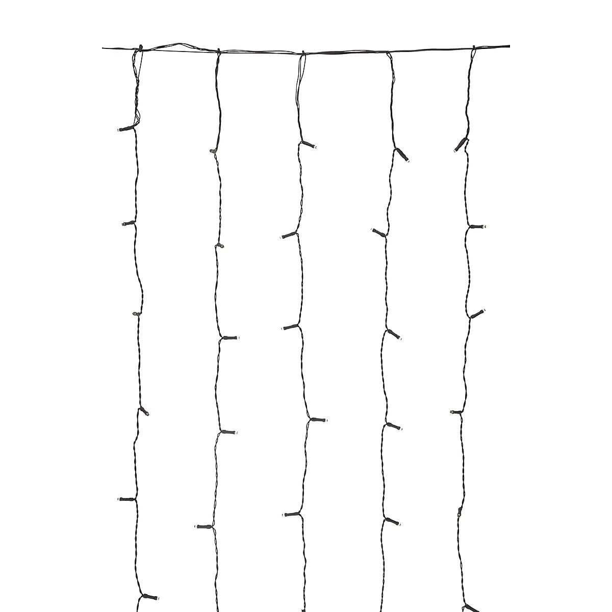 Northlight Expandable LED String Light Curtain