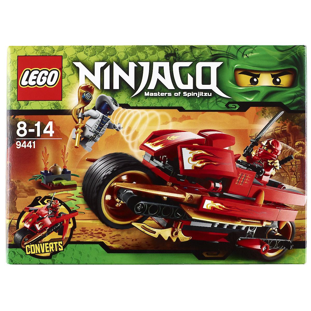 Lego Ninjago 9441, Kais knivracer