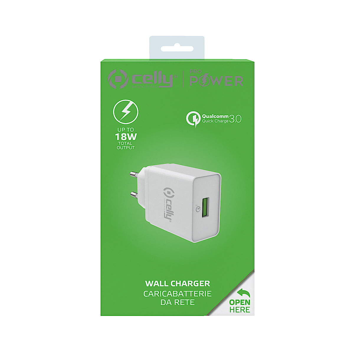 USB-laturi, Celly Quick Charge 3.0