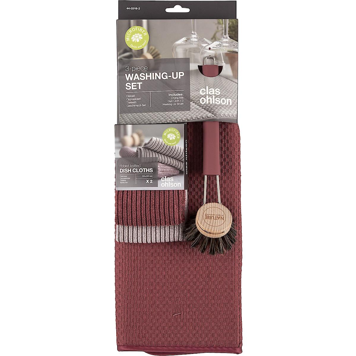 Tiskisarja viininpunainen, Smart Microfiber
