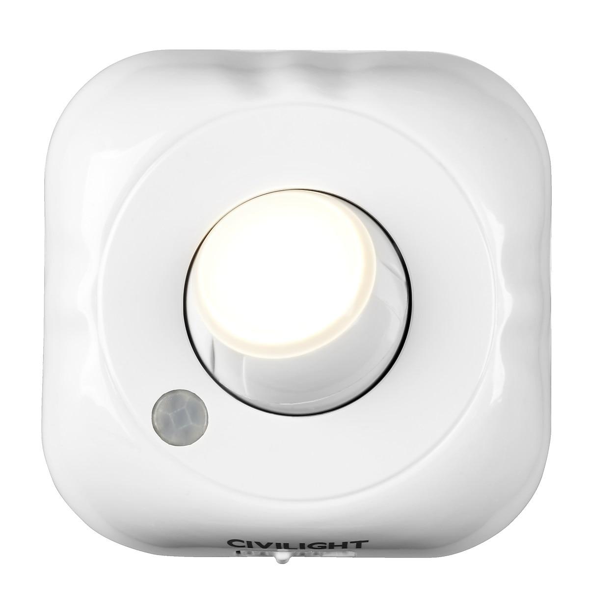 LED-belysning med sensor