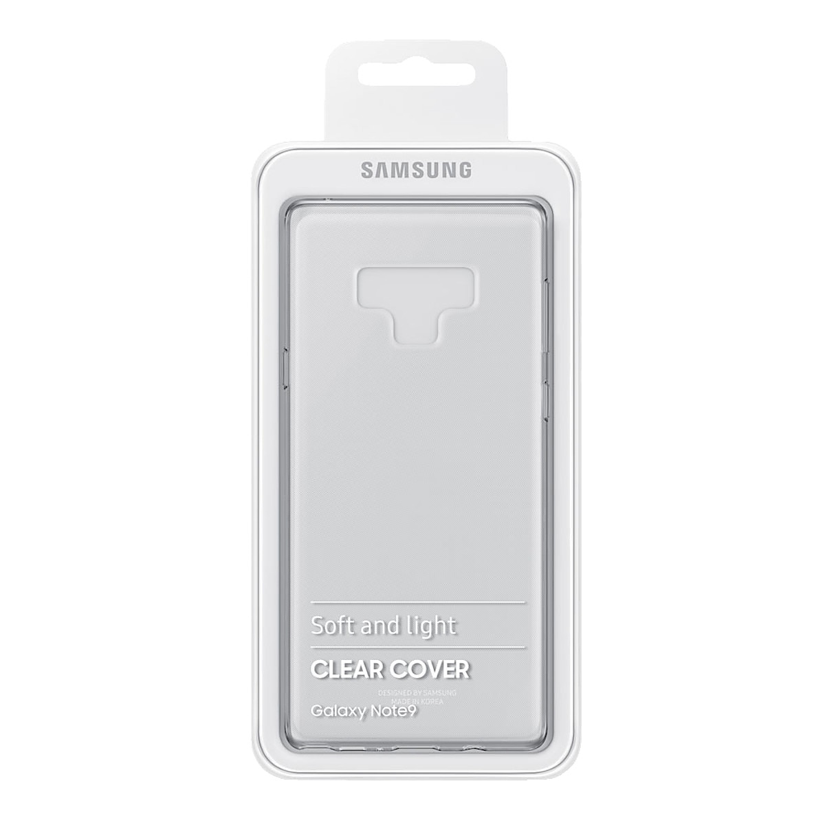 Kuori Samsung Galaxy Note 9, Samsung Clear Cover