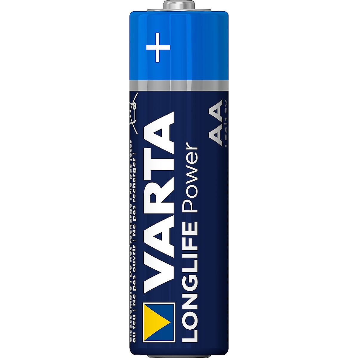 Alkaliskt batteri AA/LR6 VARTA Longlife Power