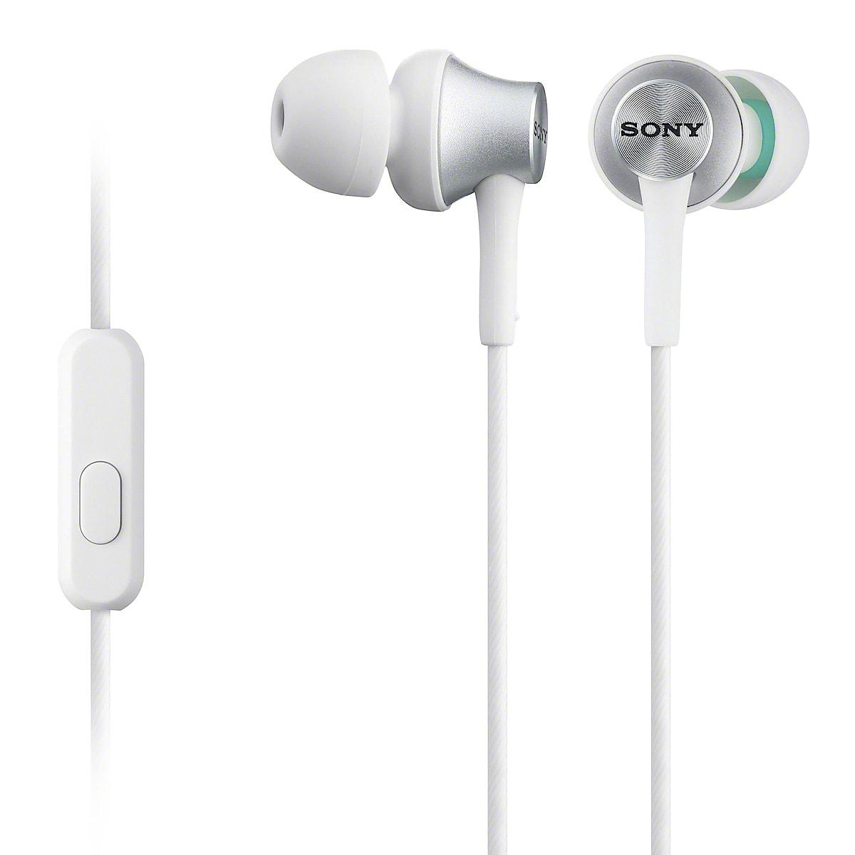 Hörlurar med mikrofon Sony MDR EX450