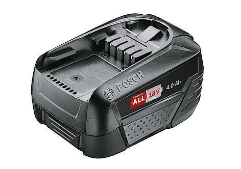 Bosch GBA 18 V M C Profesional 4,0 Ah batteri | Clas Ohlson