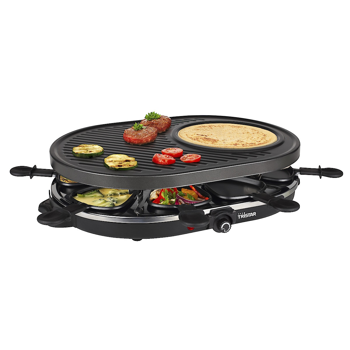Raclette & Crepe Tristar RA 2996   Clas Ohlson