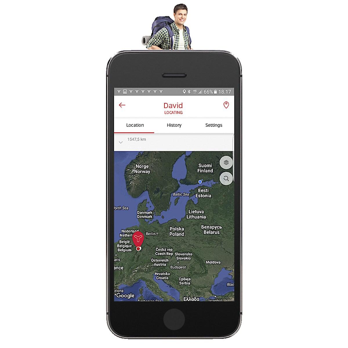 GPS-tracker Yepzon Freedom