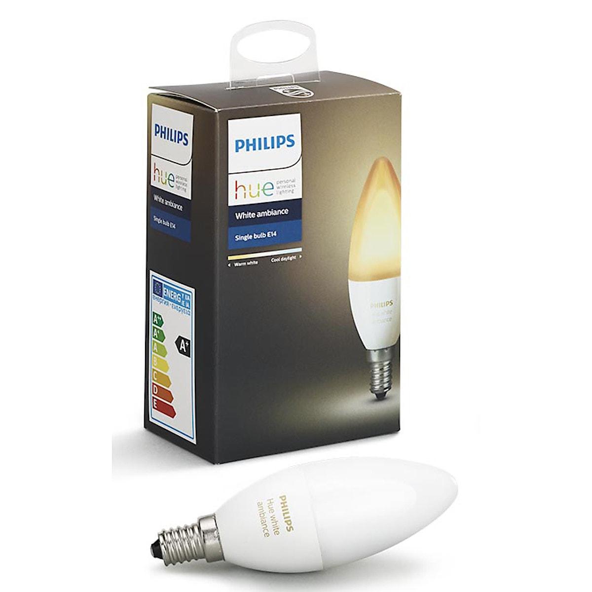 Philips Hue Ambiance LED-lampa 6 W E14