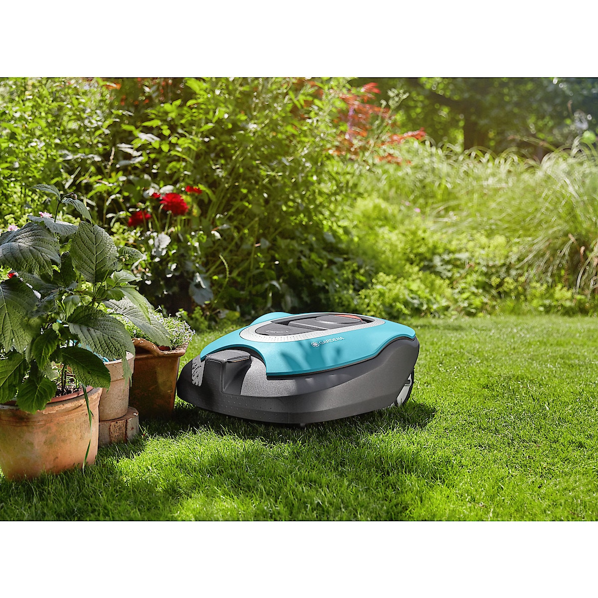 Robotgräsklippare Gardena Sileno