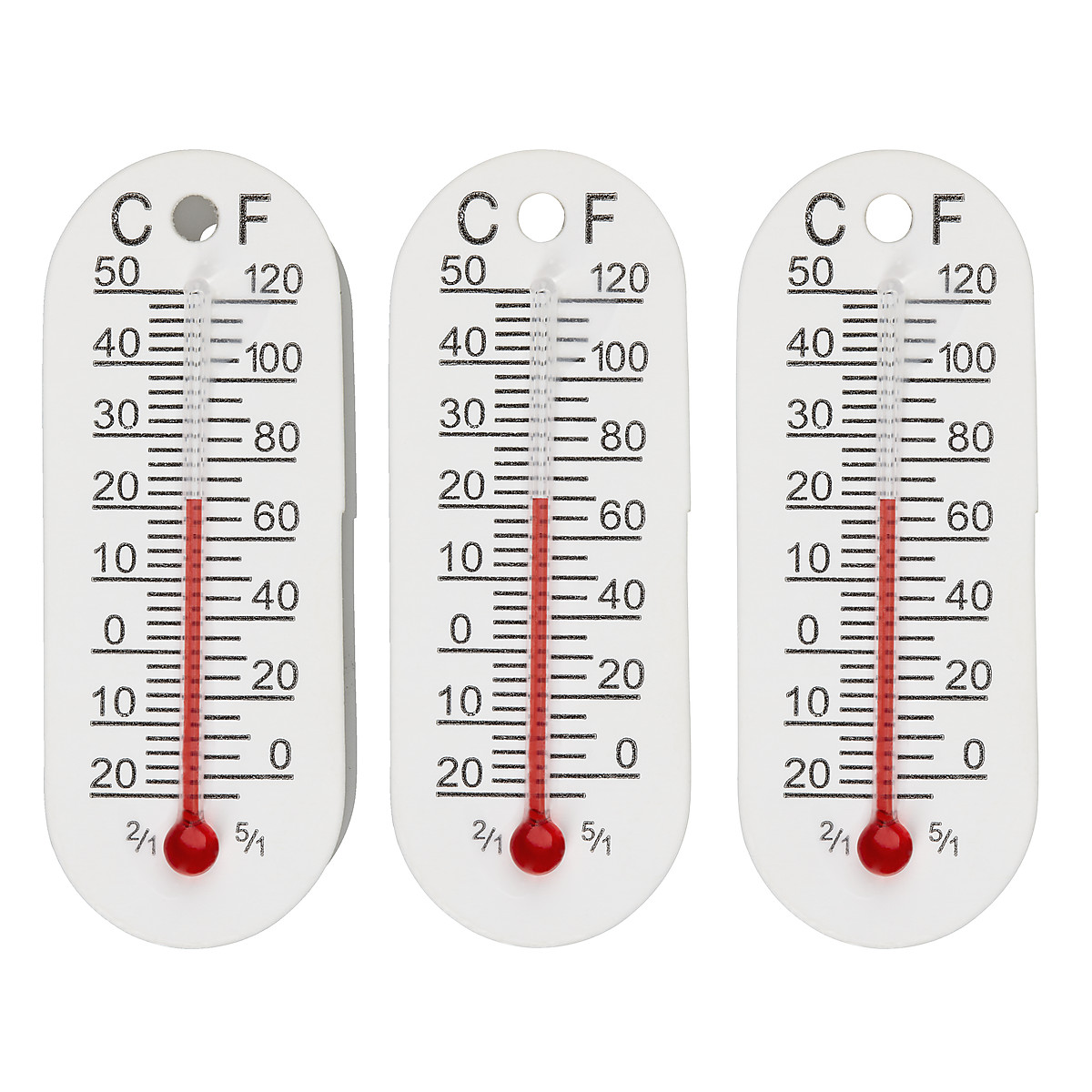 Mini-Thermometer 3er-Pack