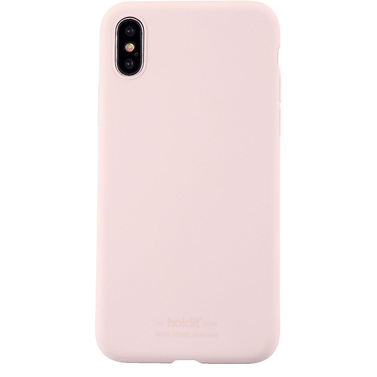 Holdit deksel i silikon for iPhone X/XS