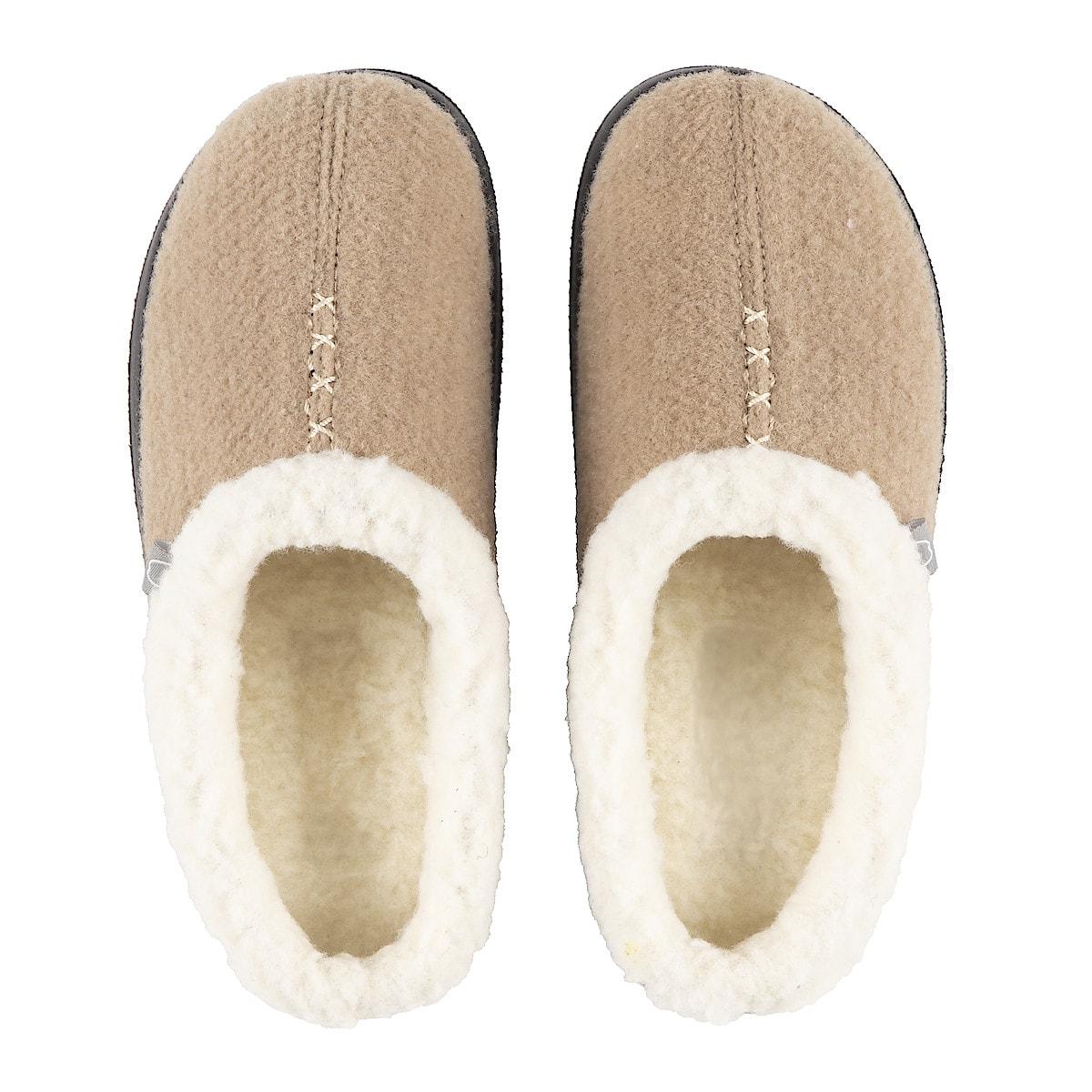 Ladies Slippers, Beige