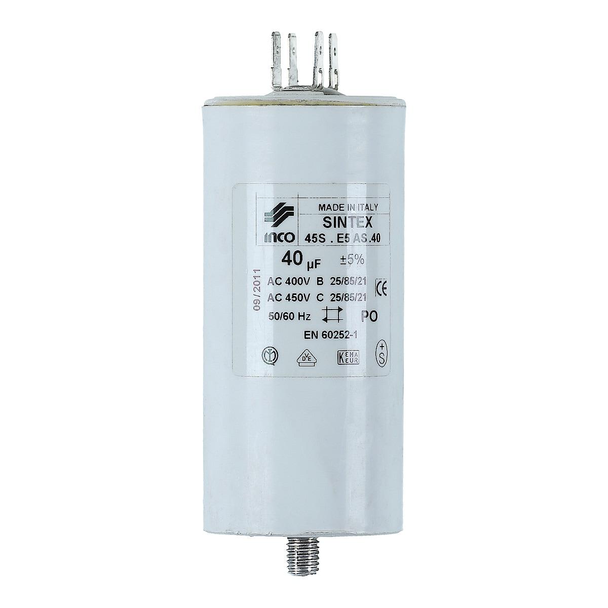 Kondensator 40 µF