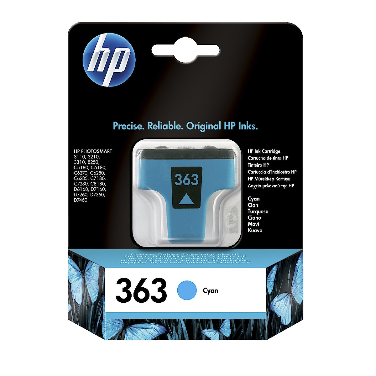 Bläckpatron HP 363
