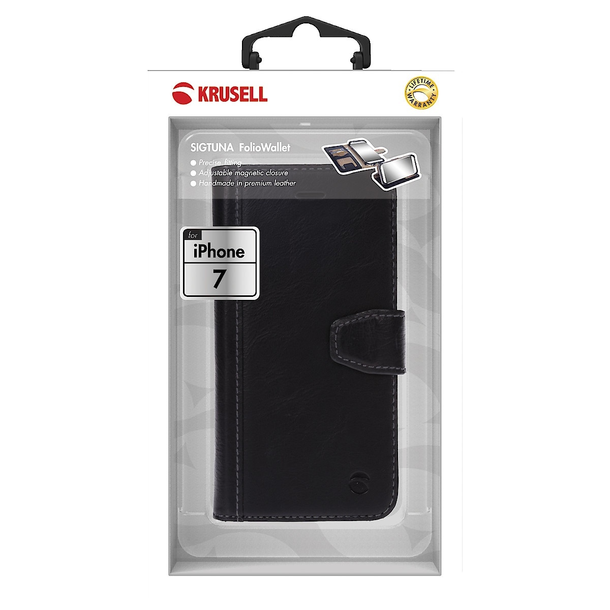 Lompakkokotelo iPhone 6/6S/7/8, Krusell Sigtuna FolioWallet