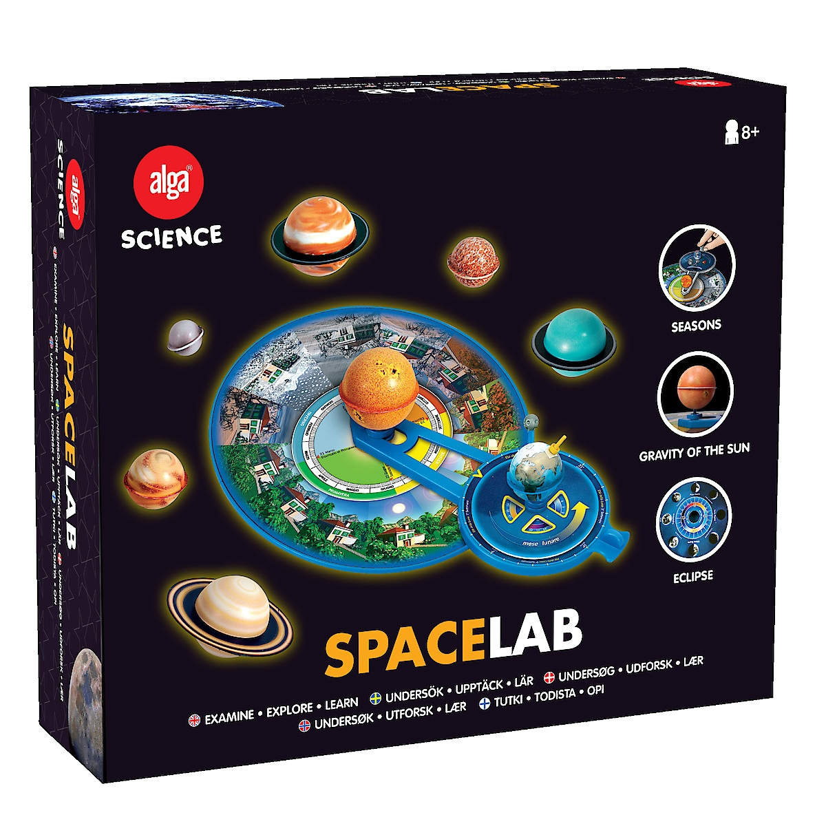 Space Lab, Alga Science