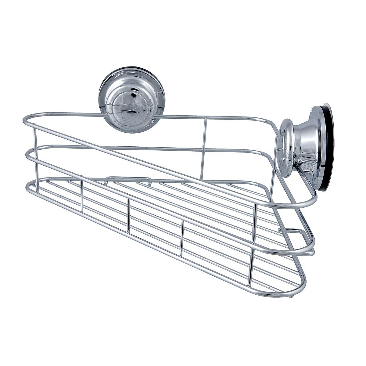Duschkorg hörn med vakuumfäste