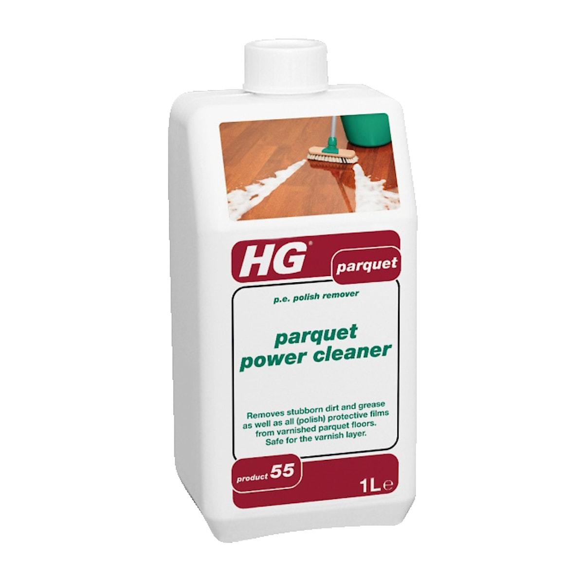 HG parquet power cleaner