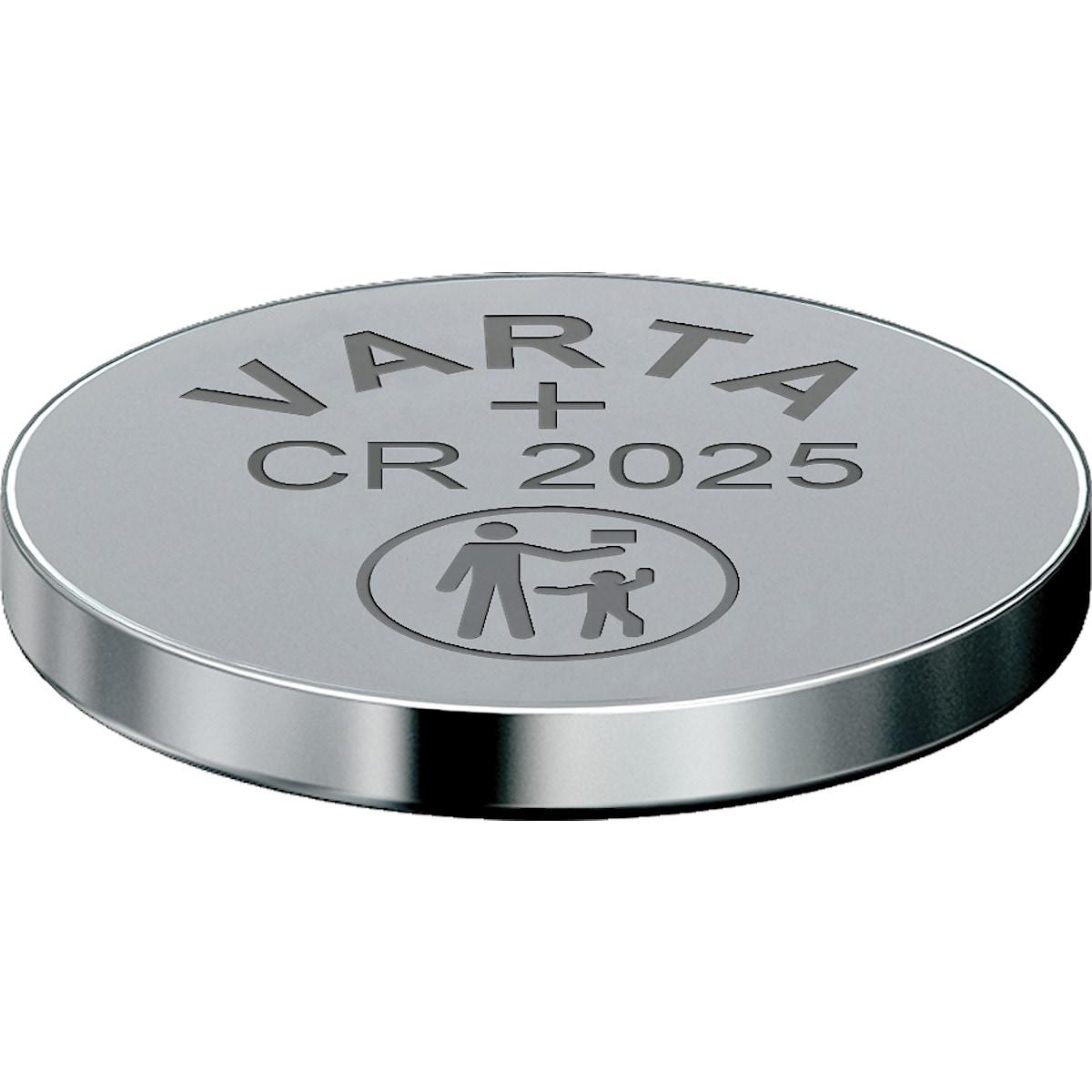 Litiumbatteri CR2025 VARTA
