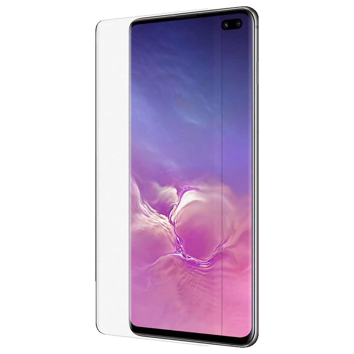 Belkin ScreenForce InvisiGlass Curve, skjermbeskytter for Samsung Galaxy S10+